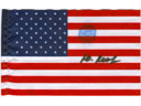# ma341 United States of America desk size flag flown