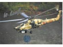 # ma374 Mi-28 Combat helicopter card
