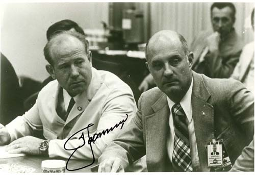# astp967 ASTP commanders Stafford and Leonov (signed)photo